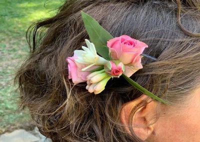 Orquilla de flores