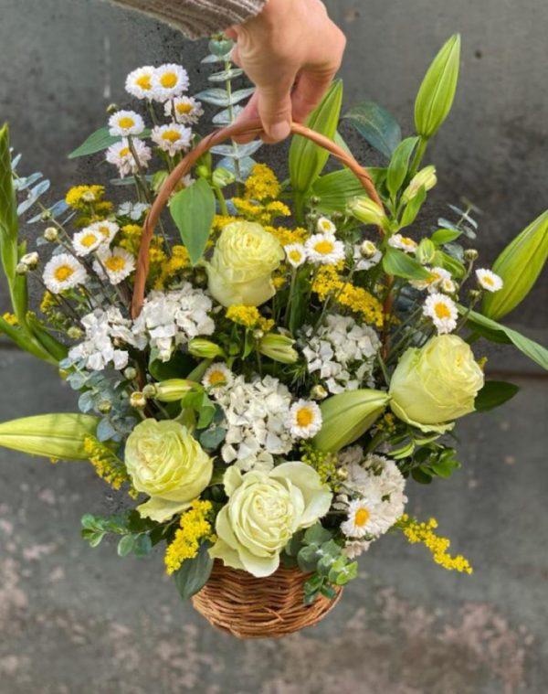 Canasto de flores S