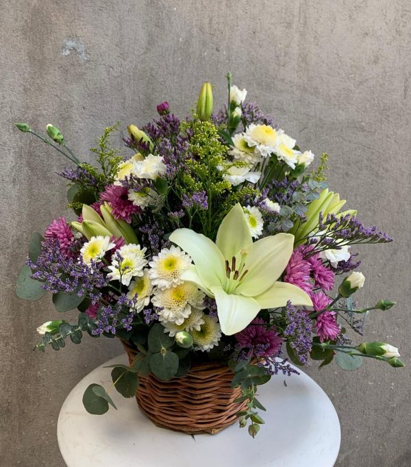 Canasto de flores M