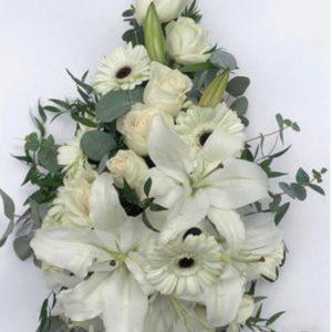 Lagrima de flores para funeral