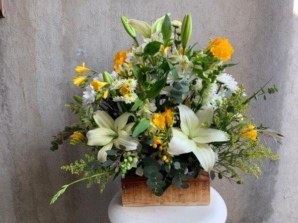 Tronco de flores